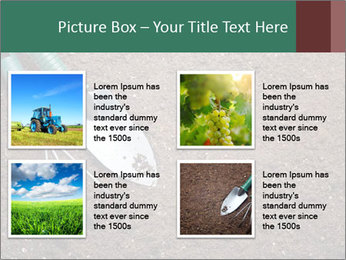 Soil with shovel PowerPoint Templates - Slide 14