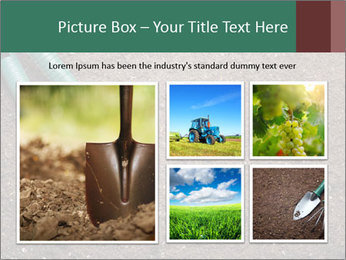 Soil with shovel PowerPoint Templates - Slide 19