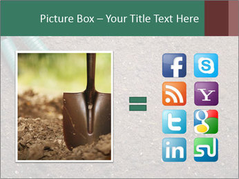 Soil with shovel PowerPoint Templates - Slide 21