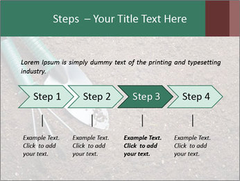 Soil with shovel PowerPoint Templates - Slide 4