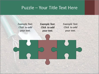 Soil with shovel PowerPoint Templates - Slide 42