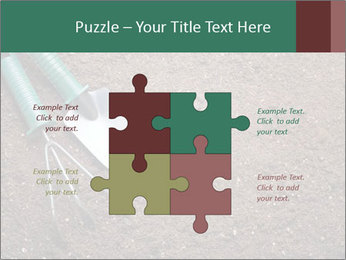 Soil with shovel PowerPoint Templates - Slide 43