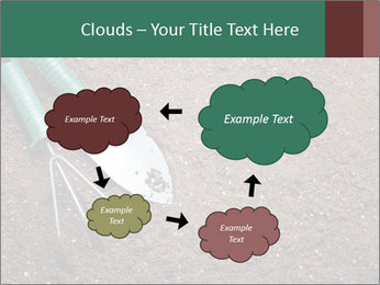 Soil with shovel PowerPoint Templates - Slide 72
