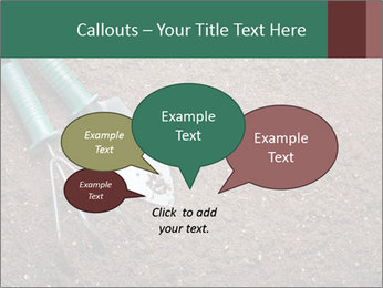 Soil with shovel PowerPoint Templates - Slide 73
