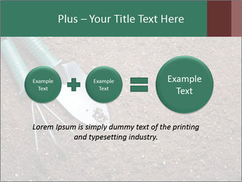 Soil with shovel PowerPoint Templates - Slide 75