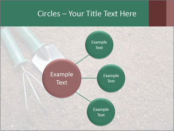 Soil with shovel PowerPoint Templates - Slide 79