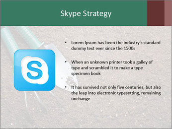 Soil with shovel PowerPoint Templates - Slide 8