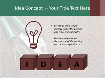 Soil with shovel PowerPoint Templates - Slide 80