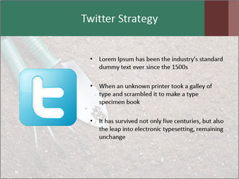 Soil with shovel PowerPoint Templates - Slide 9