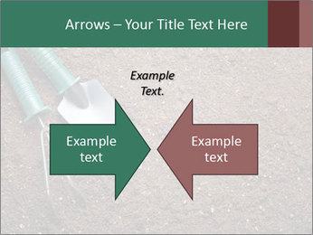 Soil with shovel PowerPoint Templates - Slide 90
