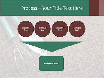 Soil with shovel PowerPoint Templates - Slide 93