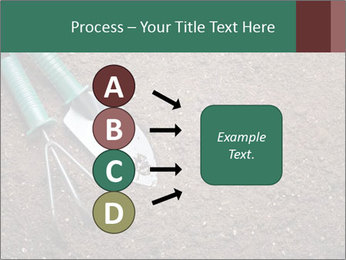 Soil with shovel PowerPoint Templates - Slide 94