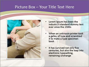 Depressed girl gets counseling PowerPoint Templates - Slide 13