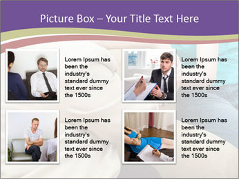 Depressed girl gets counseling PowerPoint Templates - Slide 14