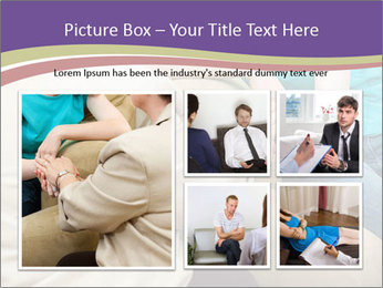 Depressed girl gets counseling PowerPoint Template - Slide 19