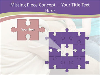 Depressed girl gets counseling PowerPoint Templates - Slide 45