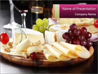 Cheese PowerPoint Templates - Slide 1