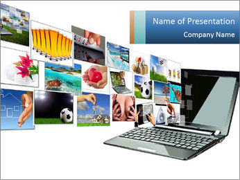 Multimedia streaming PowerPoint Templates - Slide 1