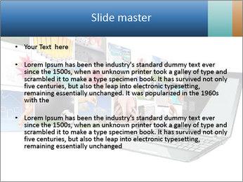 Multimedia streaming PowerPoint Template - Slide 2