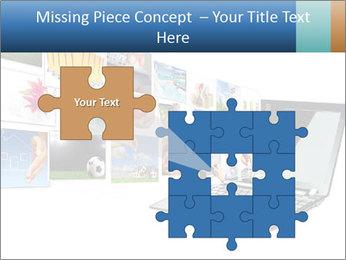 Multimedia streaming PowerPoint Template - Slide 45