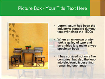 Old vintage wooden chair PowerPoint Template - Slide 13