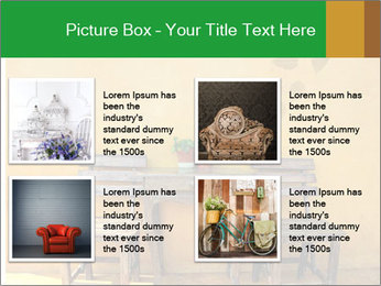 Old vintage wooden chair PowerPoint Template - Slide 14