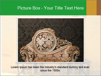 Old vintage wooden chair PowerPoint Template - Slide 16