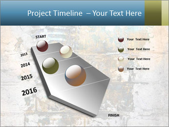 Abstract musical PowerPoint Template - Slide 26
