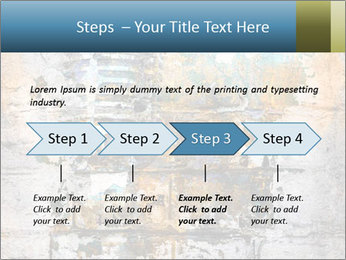 Abstract musical PowerPoint Template - Slide 4