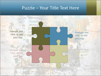 Abstract musical PowerPoint Template - Slide 43