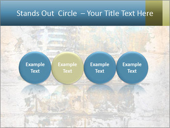 Abstract musical PowerPoint Template - Slide 76