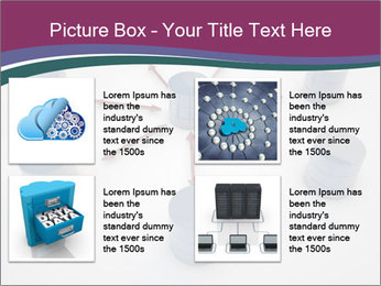 Symbolic Data Exchange PowerPoint Template - Slide 14