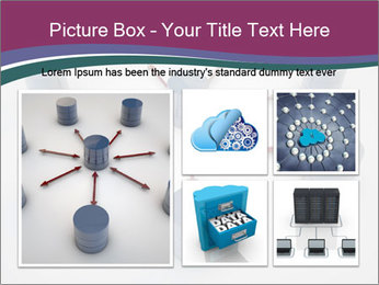 Symbolic Data Exchange PowerPoint Template - Slide 19