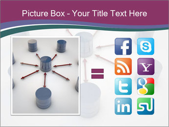 Symbolic Data Exchange PowerPoint Template - Slide 21