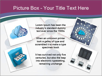 Symbolic Data Exchange PowerPoint Template - Slide 24
