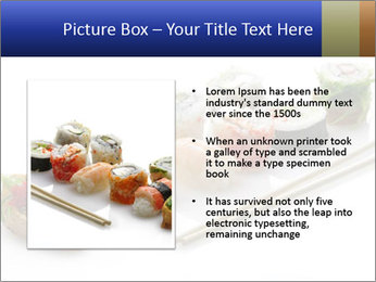 Fresh Sushi PowerPoint Template - Slide 13