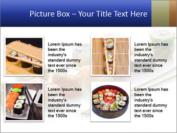 Fresh Sushi PowerPoint Template - Slide 14