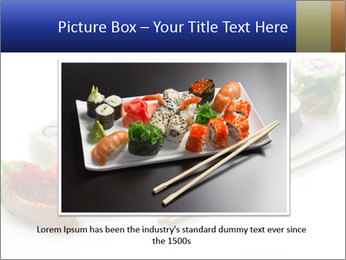 Fresh Sushi PowerPoint Template - Slide 15