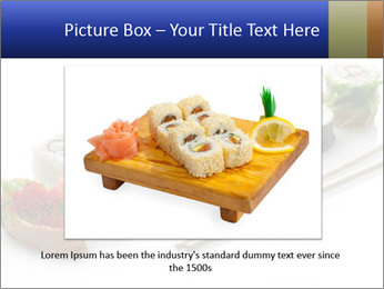 Fresh Sushi PowerPoint Template - Slide 16
