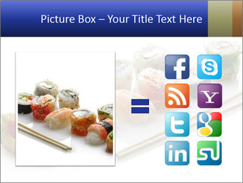 Fresh Sushi PowerPoint Template - Slide 21