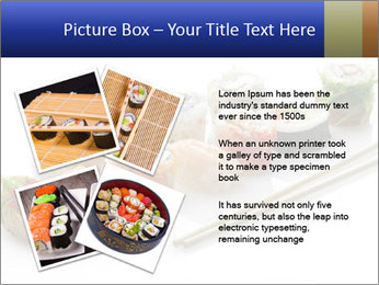 Fresh Sushi PowerPoint Template - Slide 23