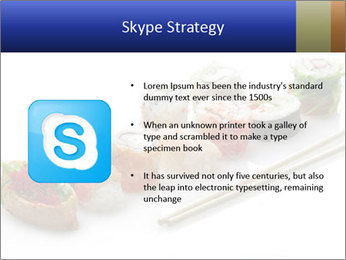 Fresh Sushi PowerPoint Template - Slide 8