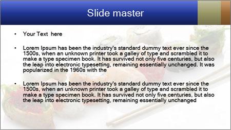 Fresh Sushi PowerPoint Template - Slide 2
