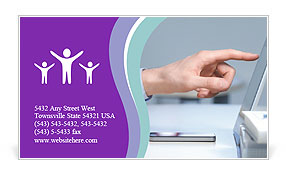 0000092376 Business Card Template