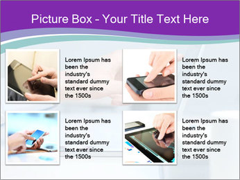 Hand pointing PowerPoint Template - Slide 14