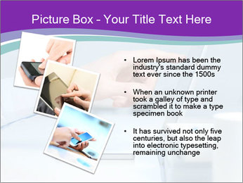 Hand pointing PowerPoint Template - Slide 17