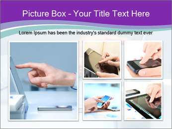 Hand pointing PowerPoint Template - Slide 19