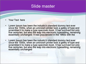 Hand pointing PowerPoint Template - Slide 2