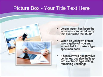 Hand pointing PowerPoint Template - Slide 20