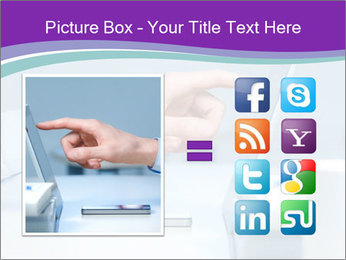 Hand pointing PowerPoint Template - Slide 21